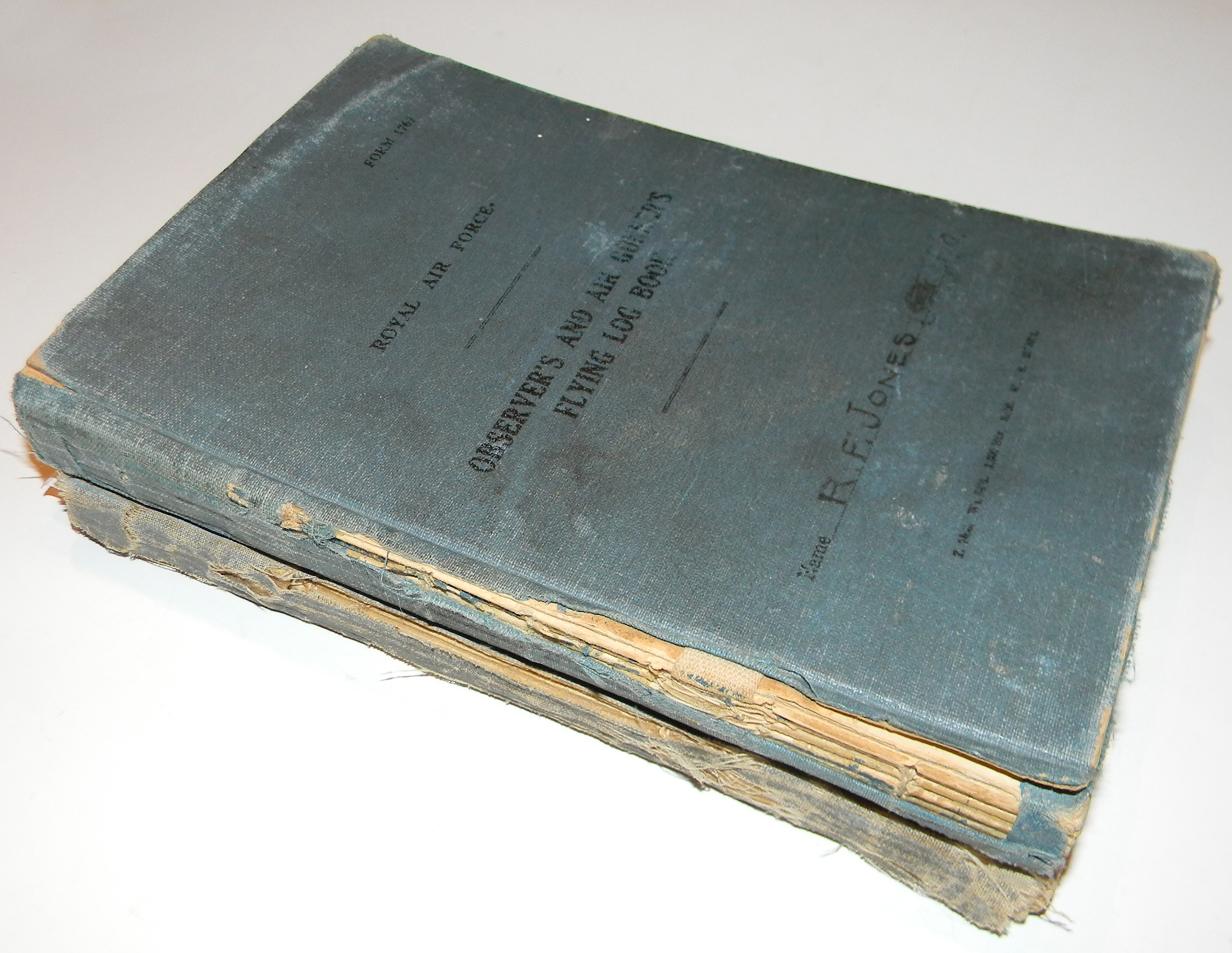 Jones log book 2