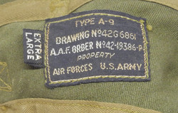AAF A-9 size X-Large