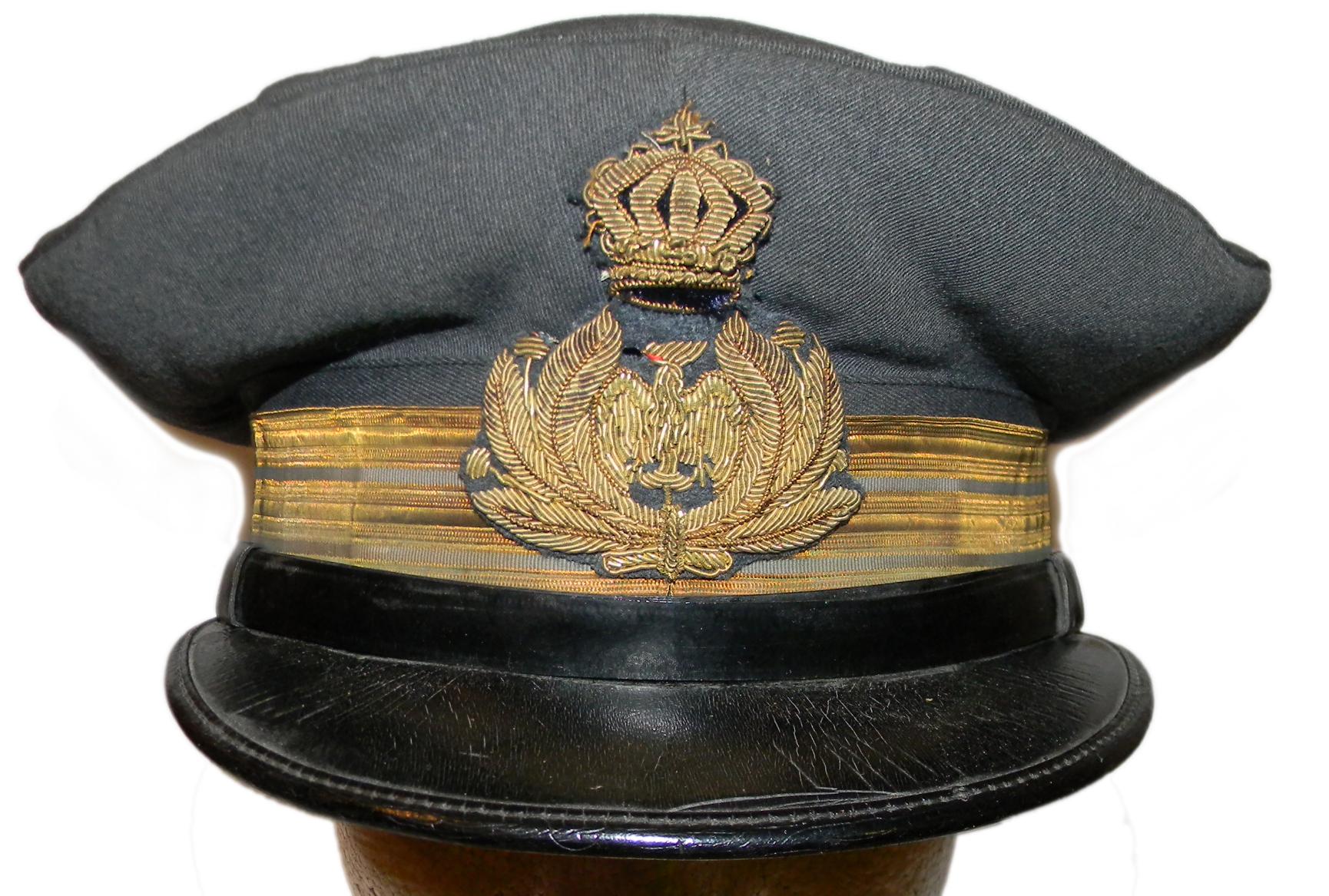 Regia Aeronautica officer's cap