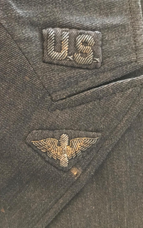 AAF Cadet service dress uniform and cap