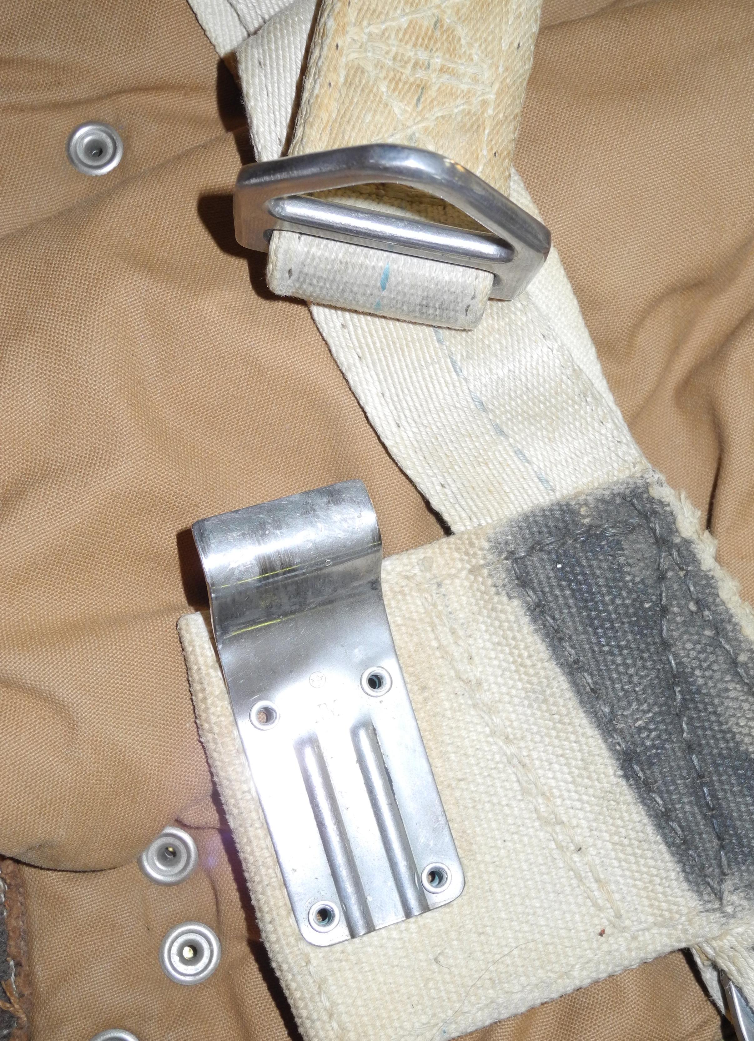 RAF / AAF observer parachute harness