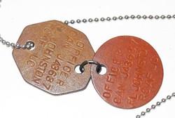 RCAF dog tags