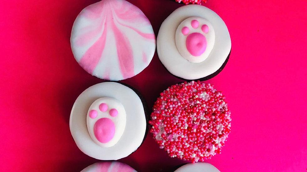 Bunny Print Muffins