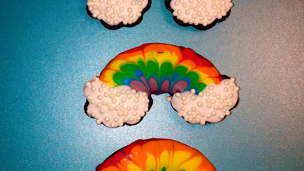 Takes the REINbow Cookies