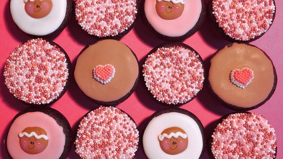 Gingerbread Cutie Muffins