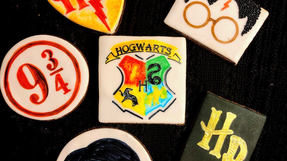 Harry Potter Cookie Collection