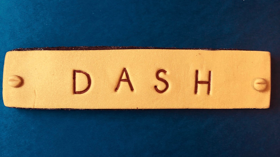 Custom Nameplate Cookie