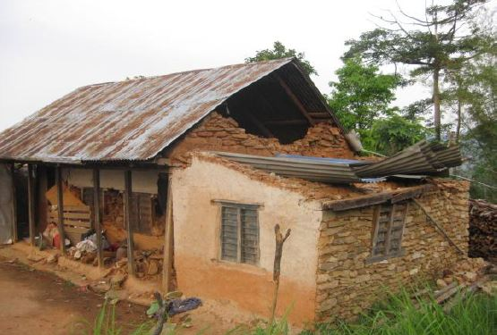 Another ruined home