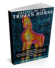 Arrival of the Trojan Horse 3D Book Cove