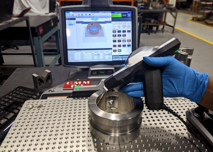 CMM Bearing Inspection BSI