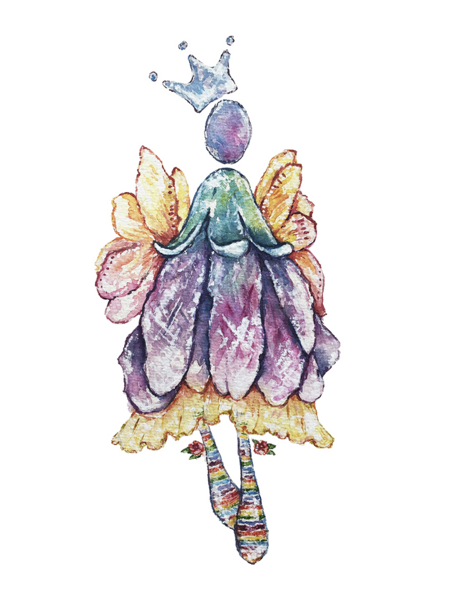 Botanical angel