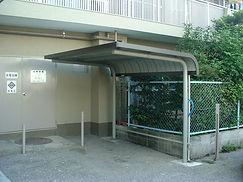 駐輪場屋根【施工後】