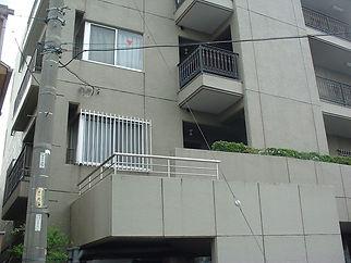 階段屋根【施工前】