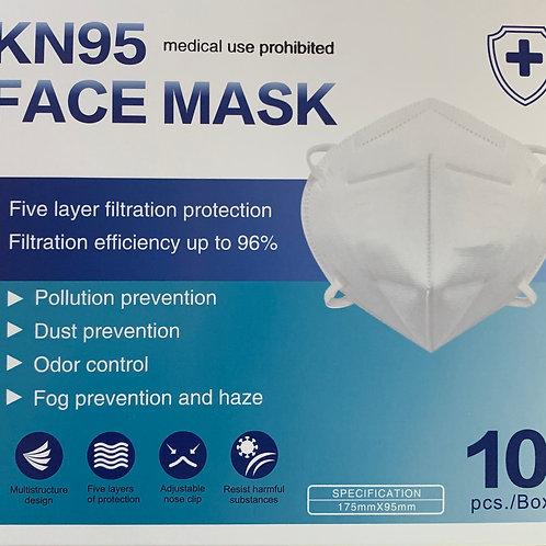 KN95 FFP2 Face Mask Box of Ten