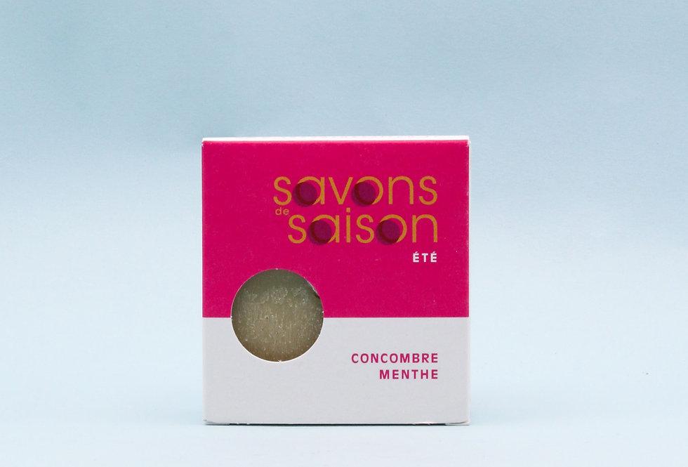 SAVON MENTHE CONCOMBRE
