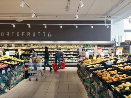 Food Shopping in Italy│義大利超市購物清單