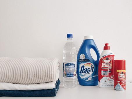 Italian Laundry & Ironing Tips 家事日常│義大利媽媽傳授的衣物清潔整燙術