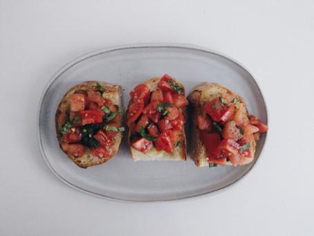 Bruschetta 義大利開胃菜入門│普切達