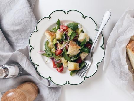 Panzanella 義大利餐桌│托斯卡納夏日番茄麵包沙拉