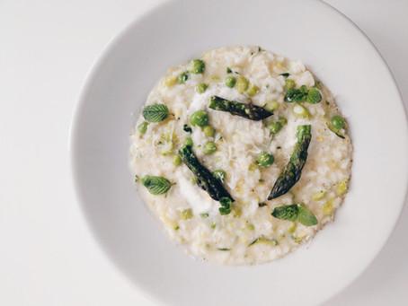 Risotto Primavera 義大利餐桌│春日摘鮮綠蘆筍燉飯