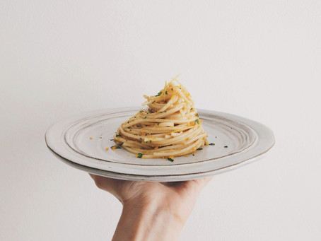 Spaghetti con Bottarga e Limone 義大利餐桌│清香檸檬烏魚子義大利麵