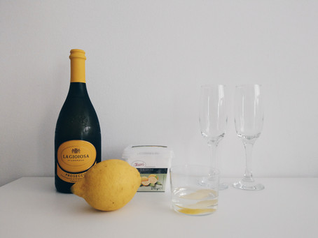 Sgroppino al Limone 義大利調酒│夏日檸檬雪酪飲