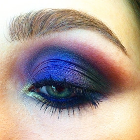 Peacock eyes by #alessiagracemakeup _Usi