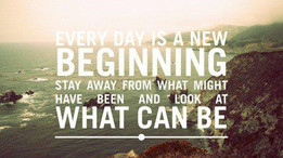 Fresh Starts, New Beginnings...