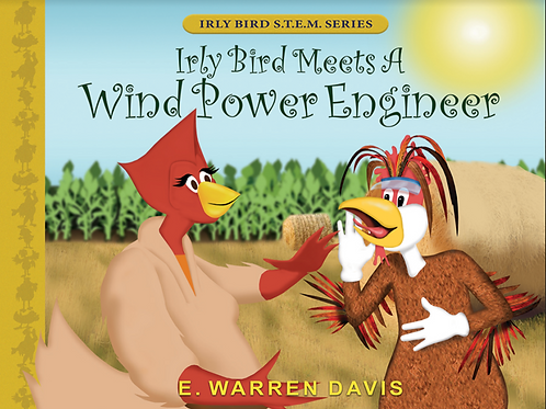Irly Bird Meets A Wind Power Engineer