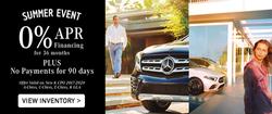 Mercedes Benz Summer Sales