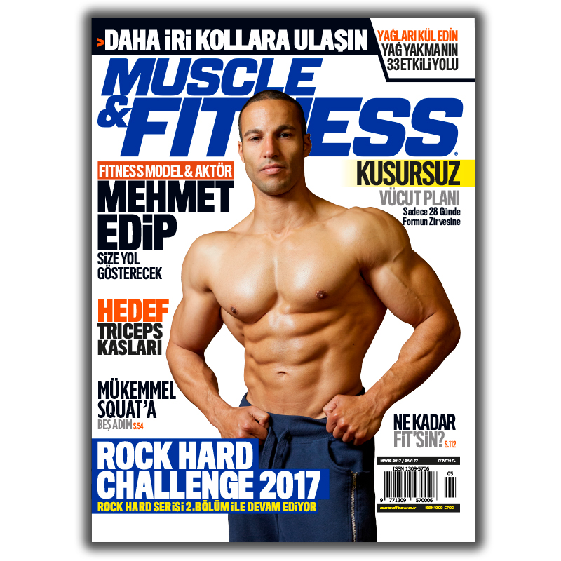 Muscle&Fitness Turkey May 2017 Cover