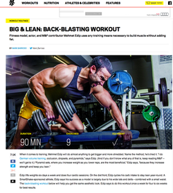 Muscle & Fitness magazine interview