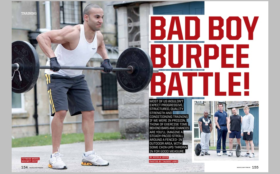 Muscle & Fitness workout feature