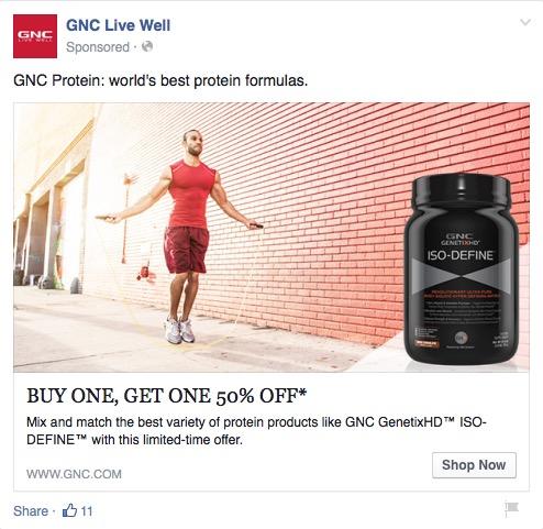 GNC Ad