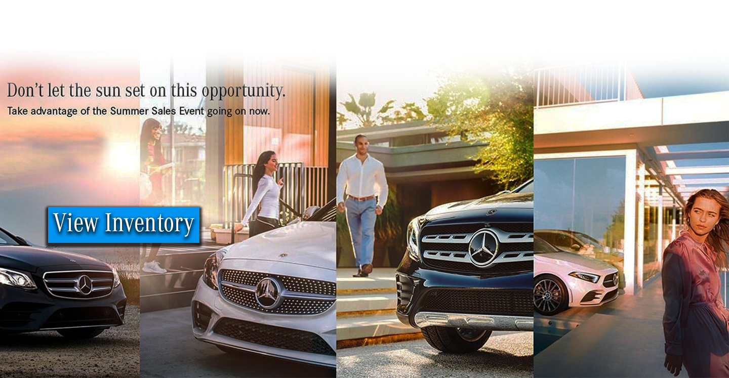 Mercedes Benz Summer Sales