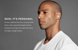 Mens Skin campaign