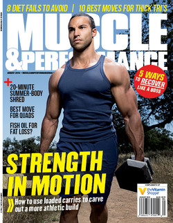 Muscle & Performance magazine Cover