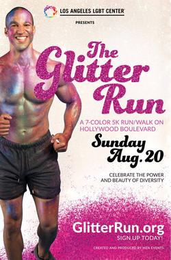 Glitter Run campaign