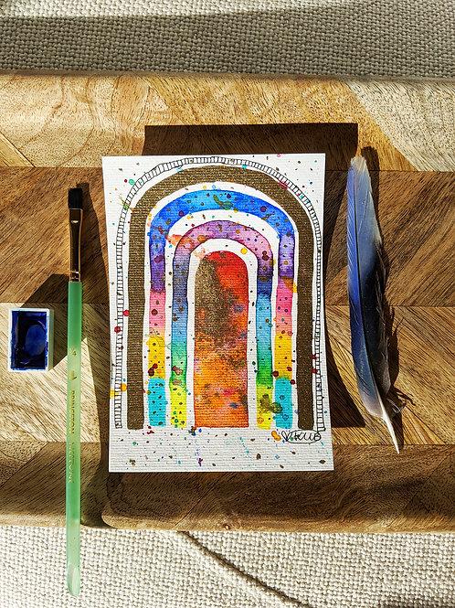 """Rainbow Confetti"" Original Hope Mini Series (Size: 105x148mm)"