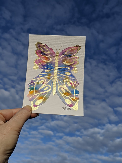 """Love Butterfly Kisses"" Original Hope Mini Series (Size: 105x148mm)"