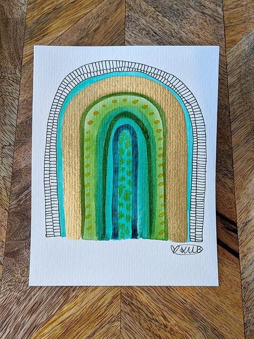 """The Emerald Arch"" Original Hope Mini Series (Size: 105x148mm)"