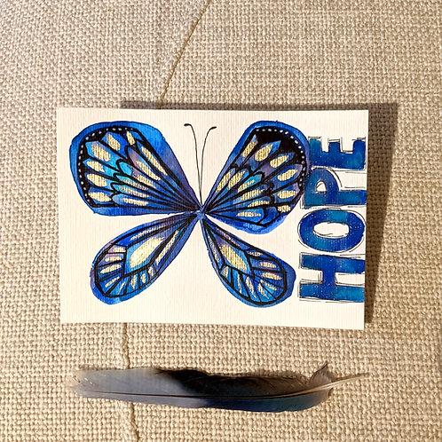 """Hope Blossoms"" Original Hope Mini Series (Size: 105x148mm)"