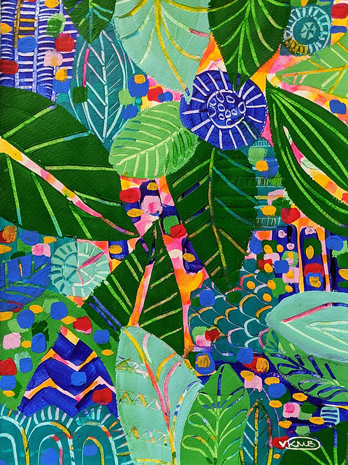 "A4 Print ""Rainforest Dreaming"" (Unframed) Limited Edition 297x210mm"