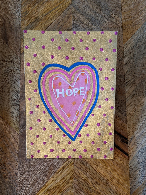 """Held with Compassion"" Original Hope Mini Series (Size: 105x148mm)"