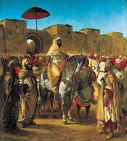 Delacroix, Moulay Abd-Er-Rahman, sultan