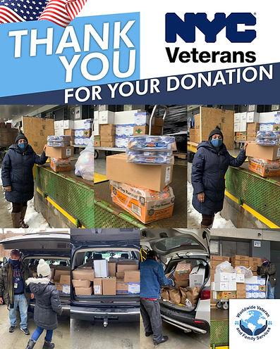 MO - Flyer Album de Donaciones de NYC VE