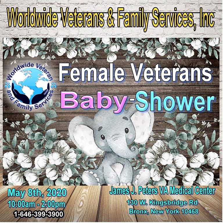 Female Veterans Baby Shower