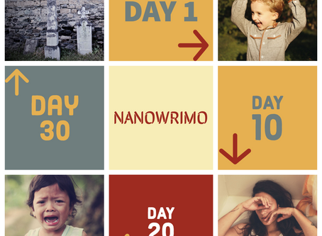 NaNoWriMo and the Horrors of the First Draft