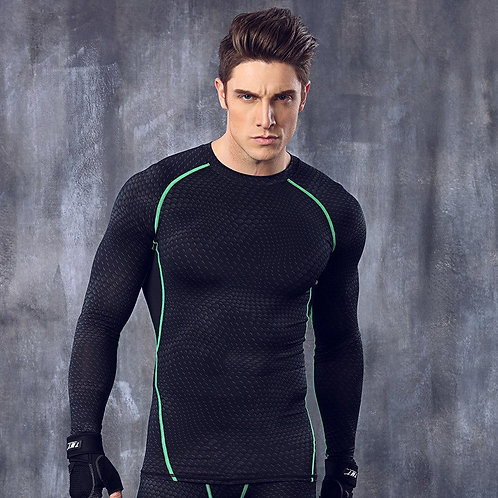 New Winter Thermal Compression Men's Suits