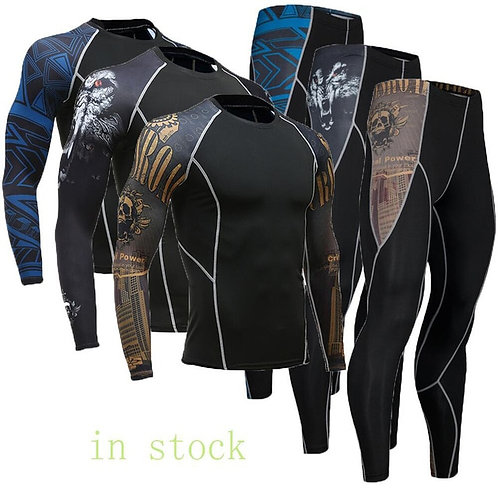 Fashion warm men's compression underwear